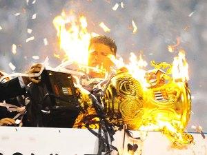 comemoração do titulo, Paulistão 2009