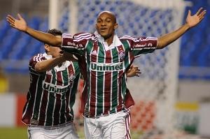 Tartá comemora gol contra o Vasco